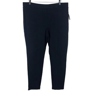 NWT Style & Co Ponte Front Seam Pull-On Leggings